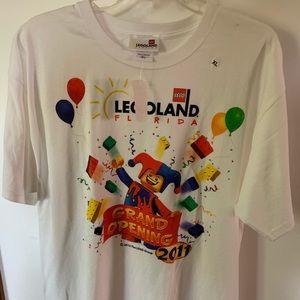 2011 Legoland Florida Grand Opening T-shirt XL